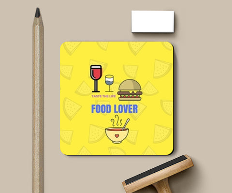 The Food Lover Coasters | Artist : Pallavi Rawal