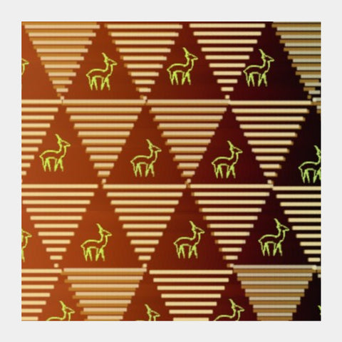 Pyramid Pattern Square Art Prints PosterGully Specials