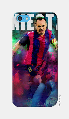 iniesta iPhone 5c Cases | Artist : ASHUTOSH RAI