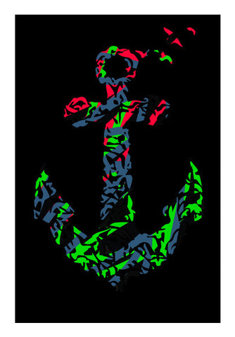 anchor wall art Wall Art | Artist : Navdeep Sharma