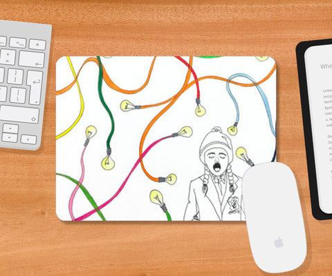Mousepad, psychedelic Mousepad | Artist : Vanya Verma, - PosterGully