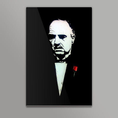 The Godfather | Vivek Aind Metal Prints | Artist : Vivek Aind