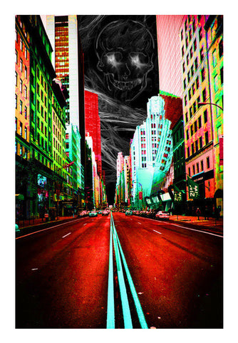 City Night Art PosterGully Specials