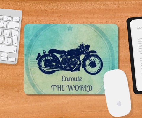 Enroute the world / Travel Mousepad | Artist : Priyanka Singhania