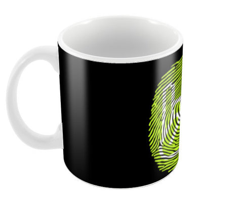 Thumping Rock Green Coffee Mugs | Artist : Ved Uttam