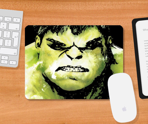 Mousepad, The Incredible Hulk Movie Comic Character Mousepad Artwork | Artist: Pulkit Taneja, - PosterGully