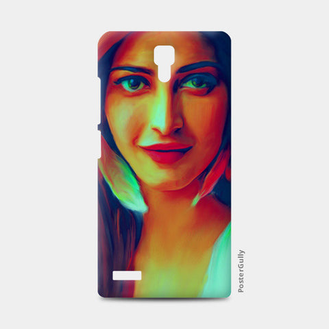Shruti Hassan Redmi Note Cases | Artist : Delusion