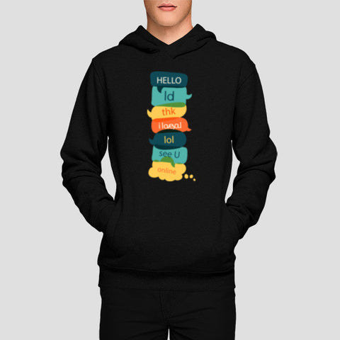 Hoodies, Quotes Hoodies | Artist : Noman Shaikh, - PosterGully - 1