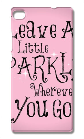 cute quote Huawei P8 Cases | Artist : Fariya Arts
