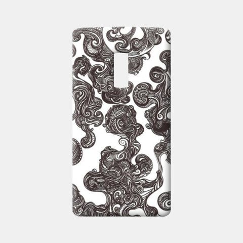 One Plus Two Cases, Swirly Doodle Case One Plus Two Cases | Artist : Aniruddha De, - PosterGully