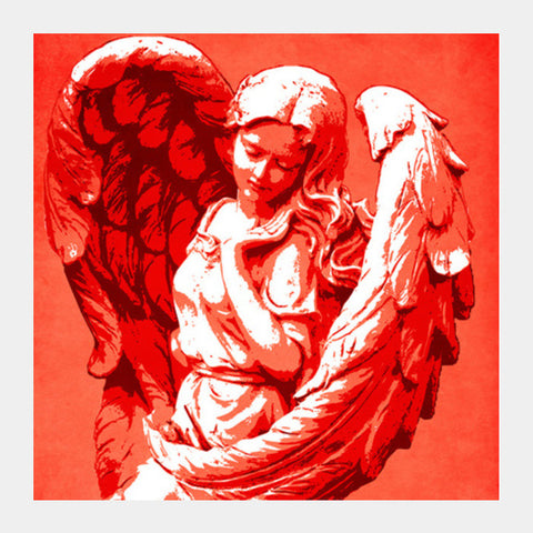 Square Art Prints, Guardian angel Square Art Prints | Artist : Durro Art, - PosterGully