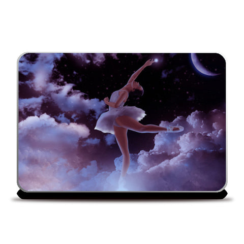 Reach the Stars Laptop Skins | Artist : Adeeba Ifrah