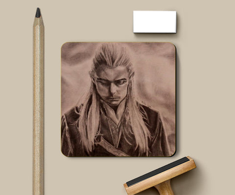 Coasters, legolas Lord of the rings Coaster | Pritika Uppal, - PosterGully