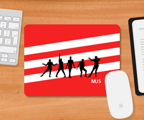 Mousepad, Mj5 Mousepad | Artist : MJ5 Officials, - PosterGully