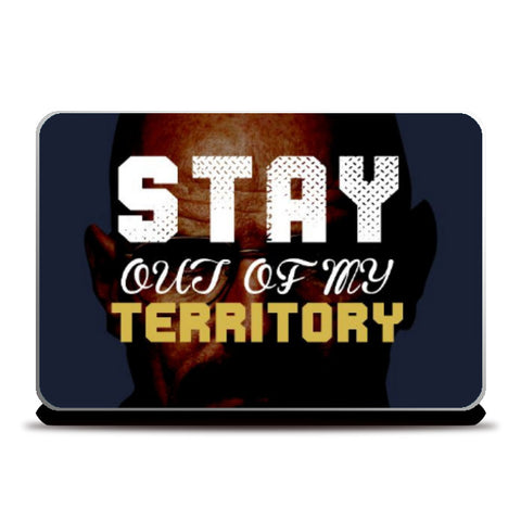 Laptop Skins, Stay out of my territory 2 Laptop Skin | Artist: Prashant Negi, - PosterGully
