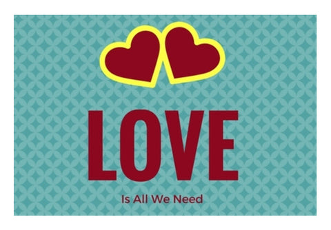 LOVE Is all we need Wall Art  | Artist : Pallavi Rawal