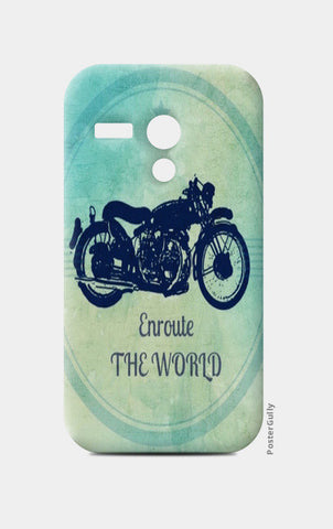 enroute the world / Travel Moto G Cases | Artist : Priyanka Singhania