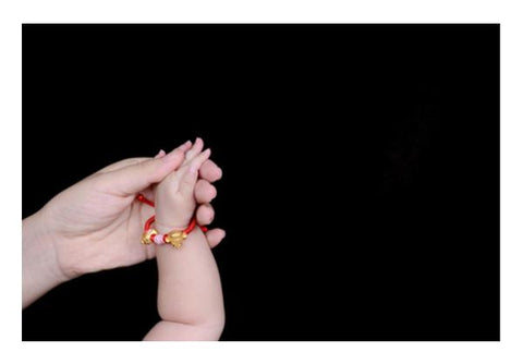 Baby Hand In Hand  Wall Art PosterGully Specials