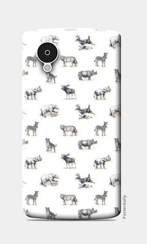 Safari Animal Nexus 5 Cases | Artist : Dinesh kumar