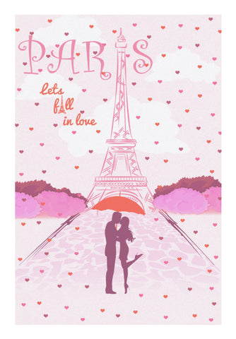 Paris-Fall in Love Wall Art | Artist : Abhishek Kanungo