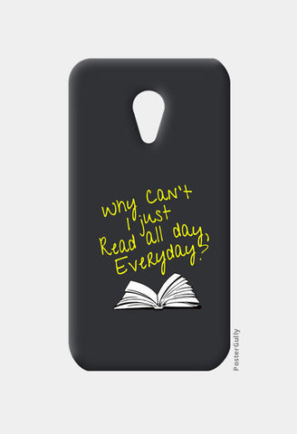 Why Can't I Just Read All Day? Moto G2 Cases | Artist : Kaushal Faujdar