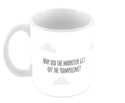 Bounce rate Coffee Mugs | Artist : Scatterred Partikles