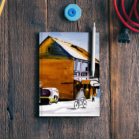 The Village Street Notebook | Artist : Rahul Tanwar