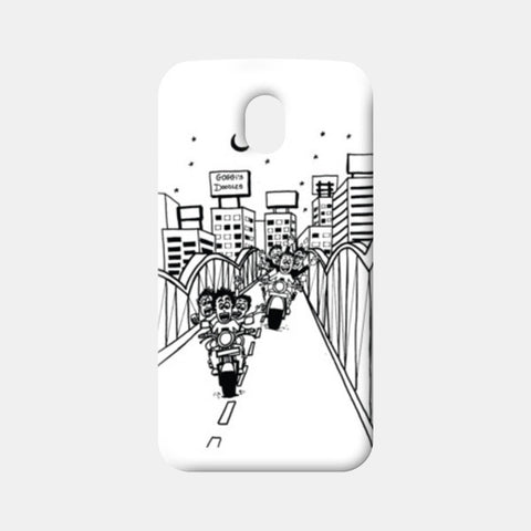 Moto G3 Cases, Boy's Hangouts in Ahmedabad..!! Moto G3 Cases | Artist : Goggi's Doodles, - PosterGully