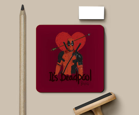 Coasters, Deadpool Coasters | Artist : desiGuy, - PosterGully