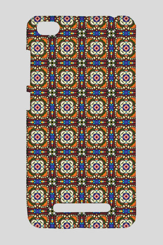Tribal Moroccan Mosaic Tile Pattern Redmi 4A Cases | Artist : Seema Hooda