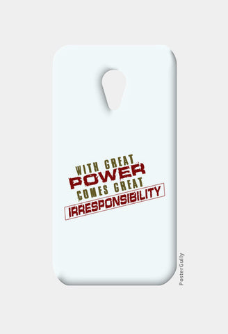 With Great Power Comes? Moto G2 Cases | Artist : Kaushal Faujdar