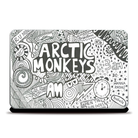 Laptop Skins, Arctic Monkeys Laptop Skins | Artist : Gareema, - PosterGully