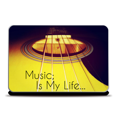 Laptop Skins, Music Is My Life 001 Laptop Skins | Artist : Richard Howardson, - PosterGully