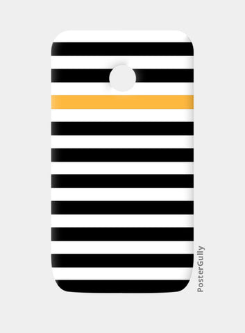 Happy Stripes Moto E Cases | Artist : Vaishak Seraphim