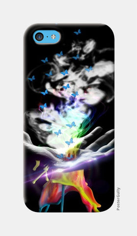 Magical Colors iPhone 5c Cases | Artist : BhagyaShri