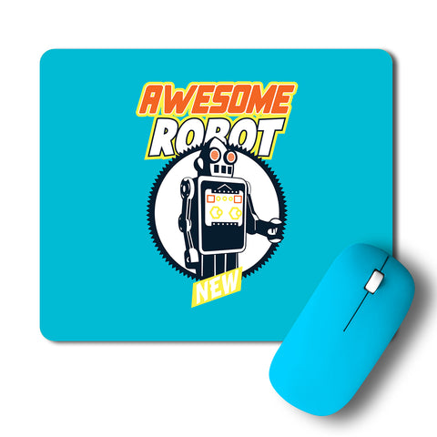 Awesome Robot Artwork Mousepad