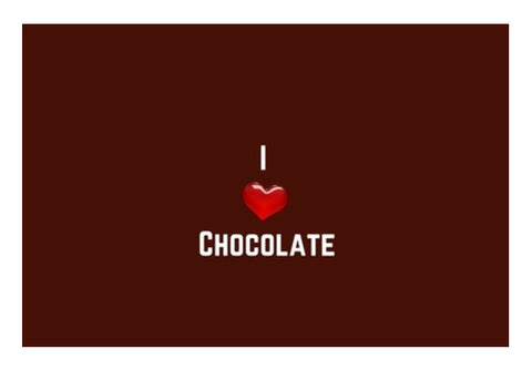 I love chocolate Wall Art  | Artist : Pallavi Rawal