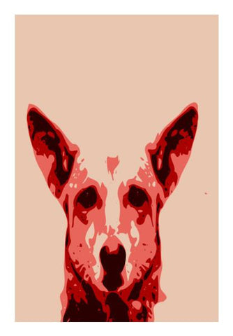 PosterGully Specials, Absctract Dog  Wall Art | Artist : Keshava Shukla, - PosterGully