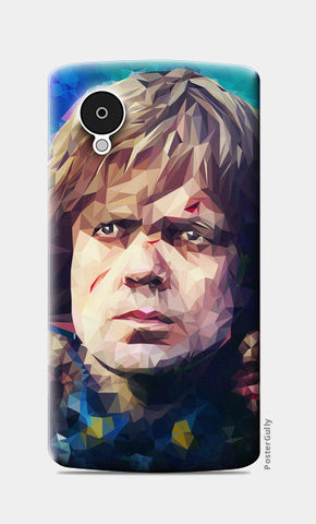 Nexus 5 Cases, Hear me roar - Tyrion Lannister Lowpoly portrait Nexus 5 case | cuboidesign, - PosterGully