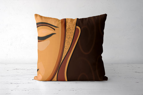 Buddah Cushion Cover | Artist : Sidhant Sharma