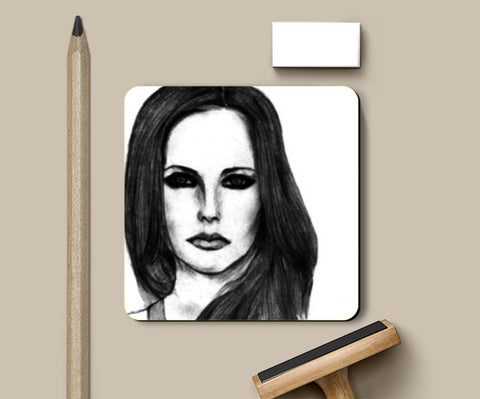 Coasters, Avril Lavigne Sketch Coasters | Artist : Richard Howardson, - PosterGully