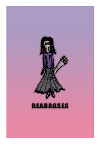 Deadroses Wall Art | Artist : Sidhant Sharma