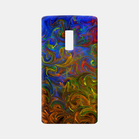 Rhythm of colors One Plus Two Cases | Artist : Amar Singha