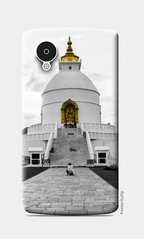 Nexus 5 Cases, World Peace Pagoda Nexus 5 Cases | Artist : Adama Toure, - PosterGully