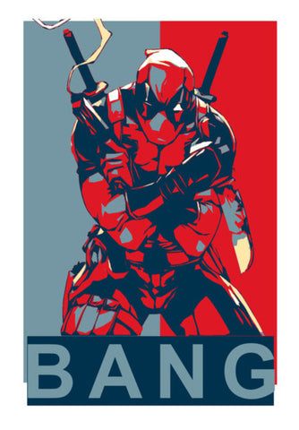 Wall Art, Deadpool Wall Art | Artist : LinearMan, - PosterGully
