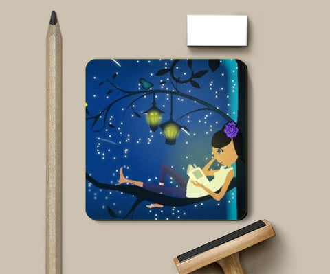 Coasters, My Dreamy Cute world Coaster | Vidhisha Kedia, - PosterGully