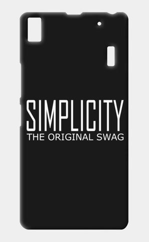 simple is swag Lenovo A7000 Cases | Artist : Keshava Shukla