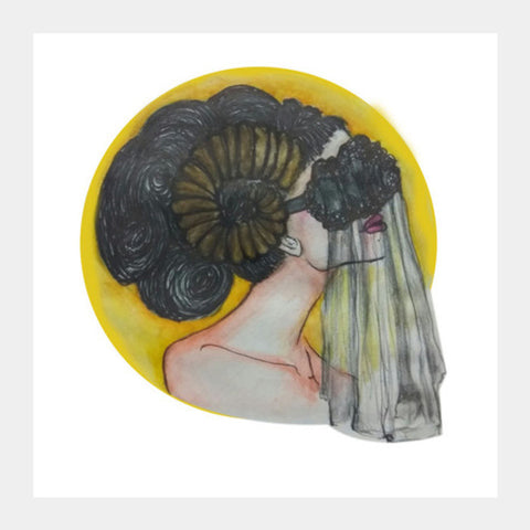ARIES Square Art Prints | Artist : Sristi Patra