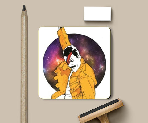 Under Pressure Coasters | Artist : Pop Goes The Easel