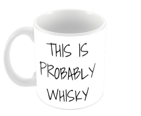 This is Whisky 2 Coffee Mugs | Artist : Sabrina Ruiz